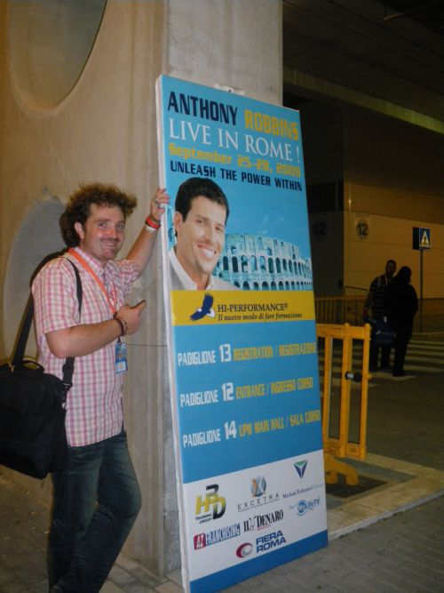 Anthony Robbins - Live in Rome